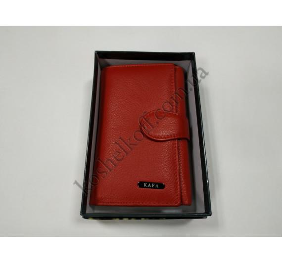 Кошелек женский кожаный Kafa с RFID защитой M 031-2
