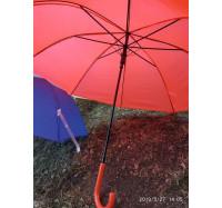 Изысканный женский силиконовый  зонт-трость 5502