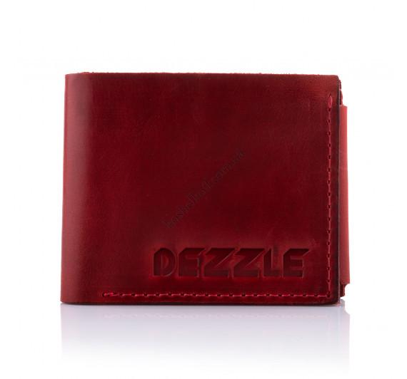 Кошелек кожаный Dezzle 2604 красный