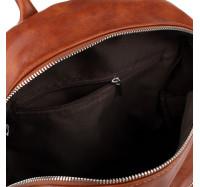 Рюкзак женский городской Goodyfun GF-8325 коричневый