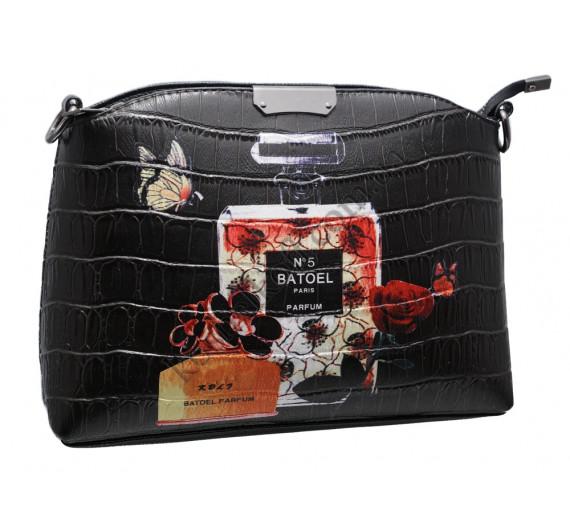 Женская сумка 323 perfume black