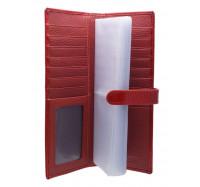 Элегантная визитница 107 red