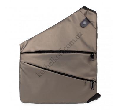 Мужская сумка-кобура cross body Lerom P8889 Bronze