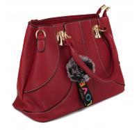 Модная   женская сумка Miss Feng  6816 красная