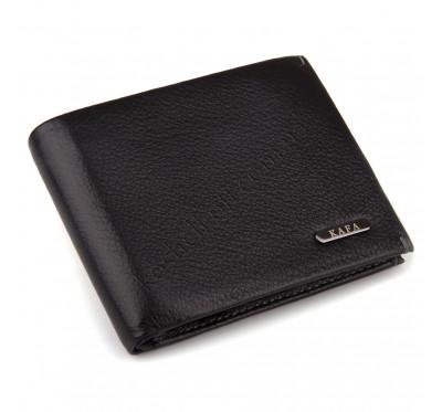 Кожаное портмоне с зажимом на магнитах Kafa 555-15m