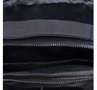 Сумка мужская через плечо из водоотталкивающей ткани Nobol 5127 черный