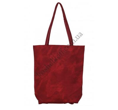 Вертикальная женская сумка 633 red