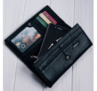 Кожаный женский кошелек Kafa 5242-A