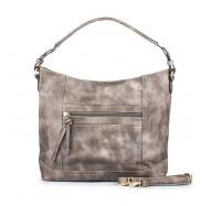 Модная женская сумка Sisters 860 серая