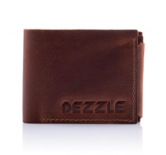 Кошелек кожаный Dezzle 2604 коричневый